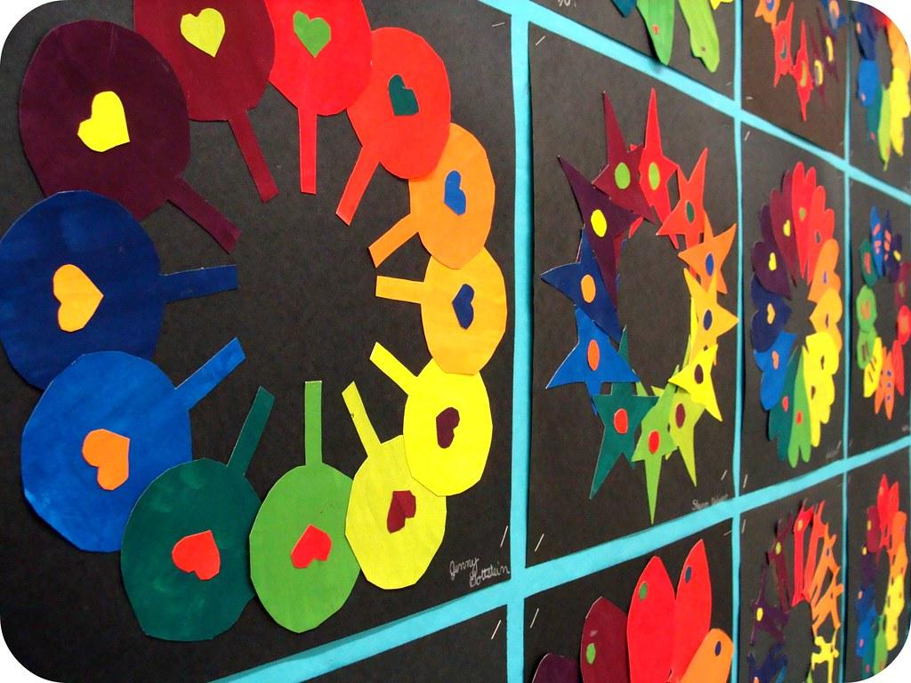 Printable Color Wheel Painting