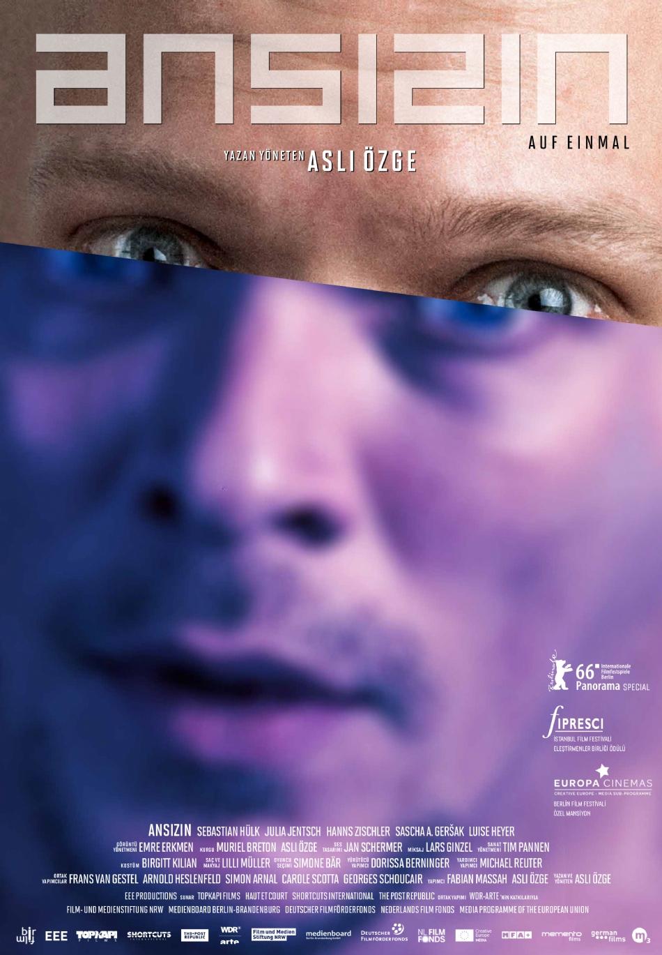 Ansızın filmi dünya galasını 66. Berlin Film Festivalinde yapacak 18