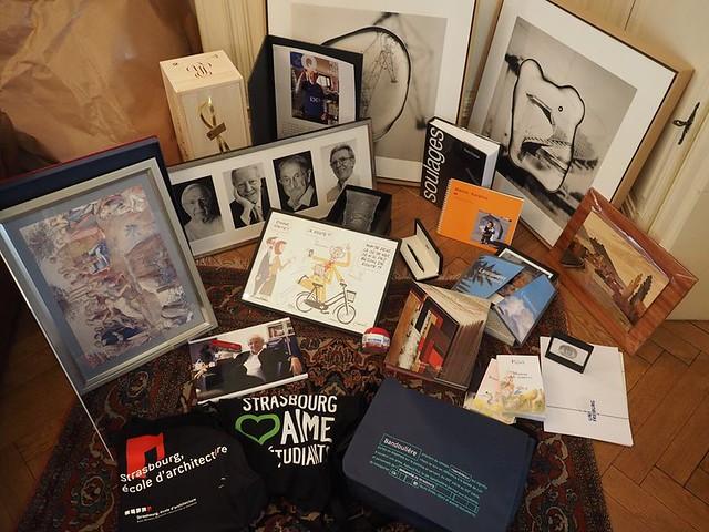 Cadeaux de départ Alain Beretz