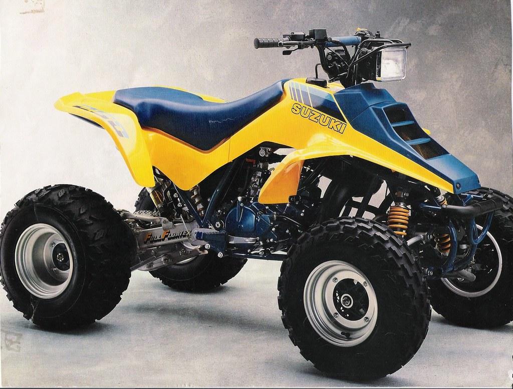 Suzuki 1980s Quad Wheeler 4