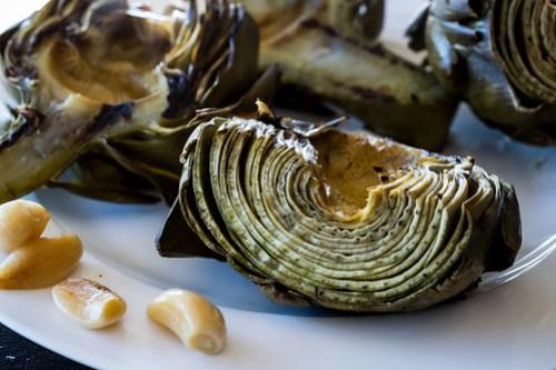 the soft roasted garlic is a free bonus!
