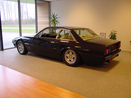 Ferrari 412 Aka The Daft Punk Electroma Car 2 For Sale