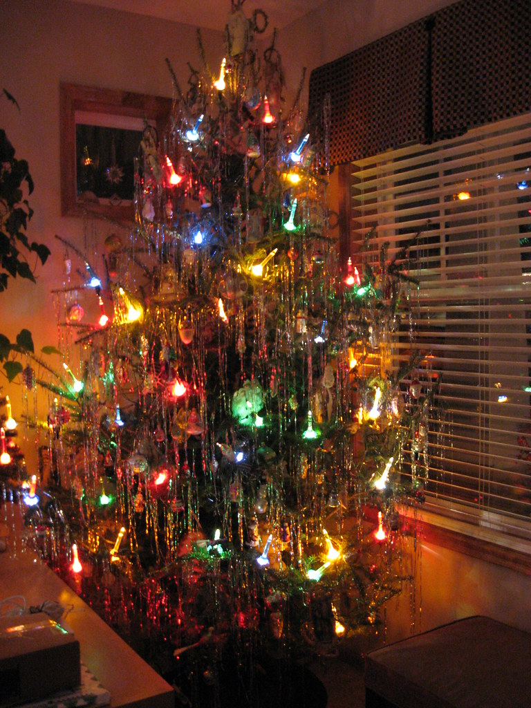 Old Fashioned Bubble Christmas Lights