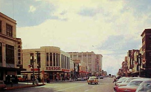 Lincoln Ne Looking West Along O Street From 13th Street