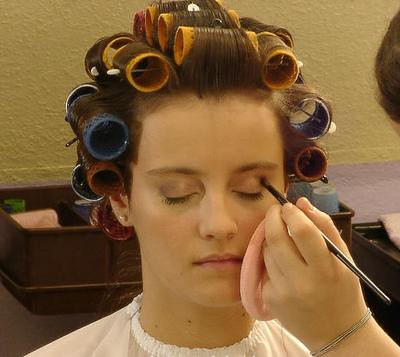curlers and makeup i am obsessed with curlers and the enti flickr