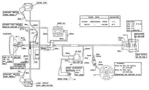 Derbi Variant Wiring Diagram