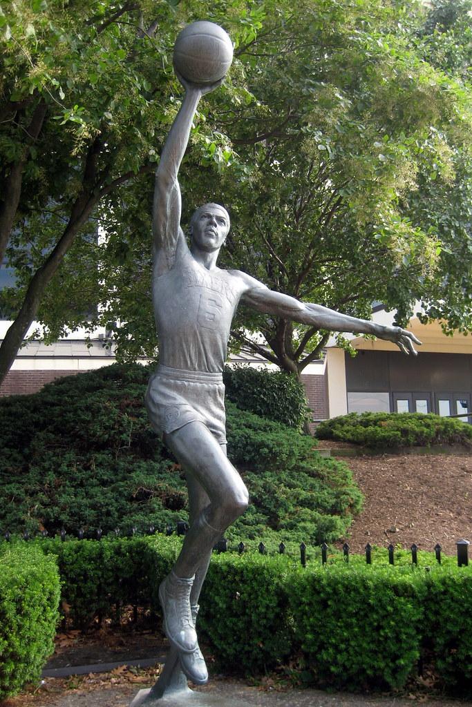 Philadelphia The Spectrum Julius Erving Statue This