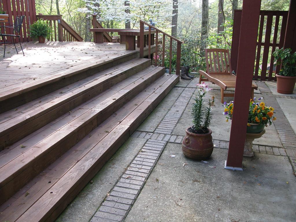 Back Patio Porch