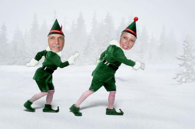 Elf Yourself When I Was Looking For A Xmas Card For Mrs