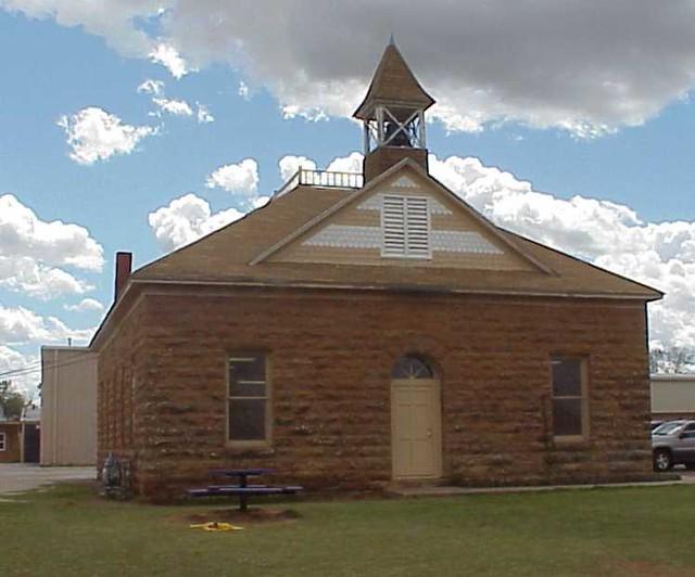 Hominy School 1904 Stone School 200 Block S Pettit St Flickr