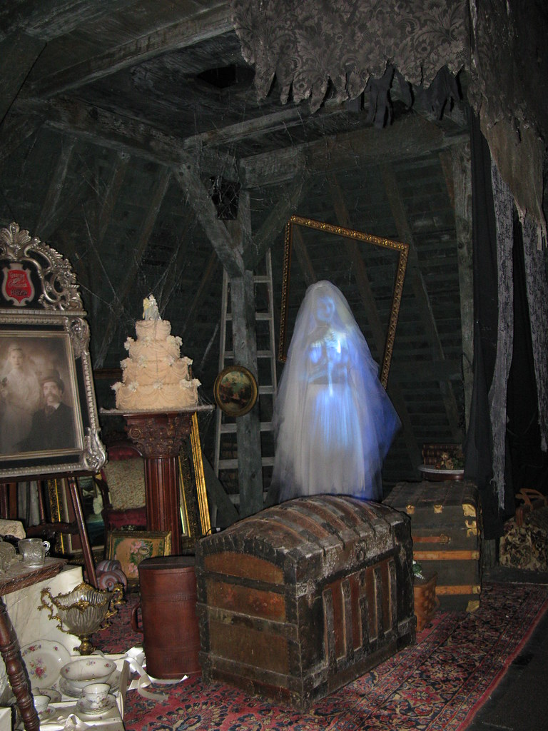 Halloween haunted house room ideas for Haunted room ideas