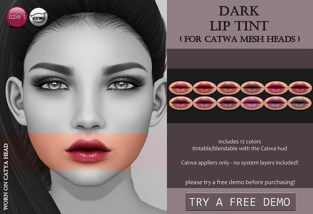 Dark Lip Tint (Catwa) for FLF