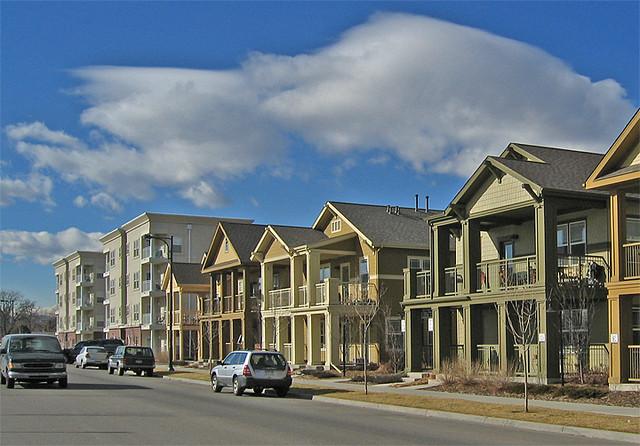 Denver Stapleton Senior Housing Small House MF Street Of
