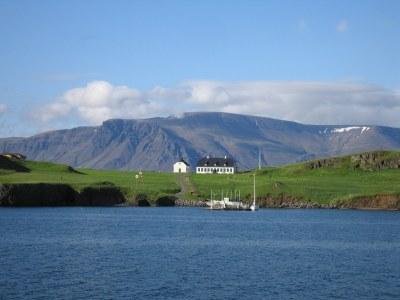 The Oldest Stone Building in Iceland, Videy Island, Reykja ...