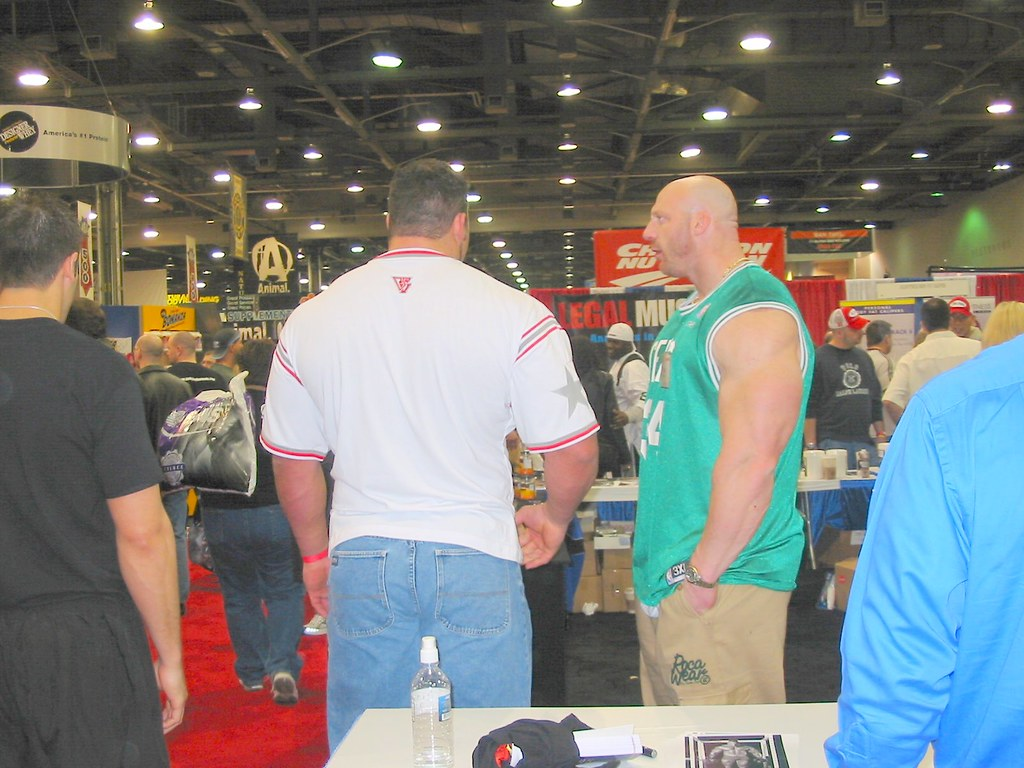 Noah Steere 2 Noah Steere At The Arnold Expo 2005