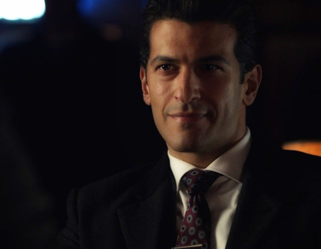 Simon Kassianides on Agents of SHIELD