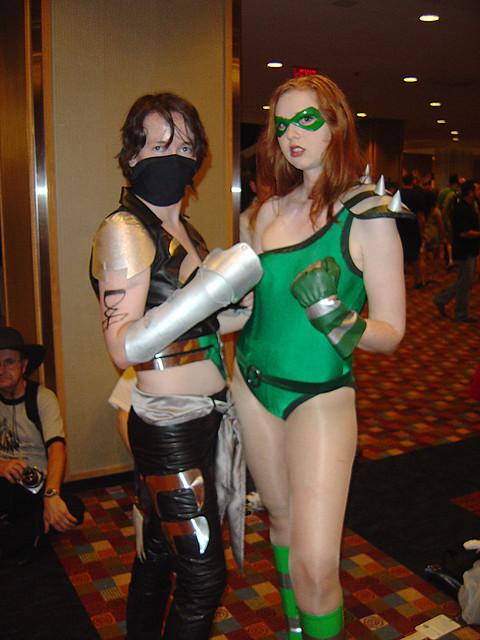 Comics Cosplay Dc Knockout