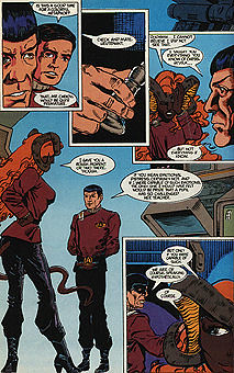 M Yra Replaces M Ress By The Time Dc Comics Quot Star Trek