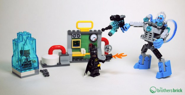 The LEGO Batman Movie 70901 Mr. Freeze Ice Attack [Review] | The ...
