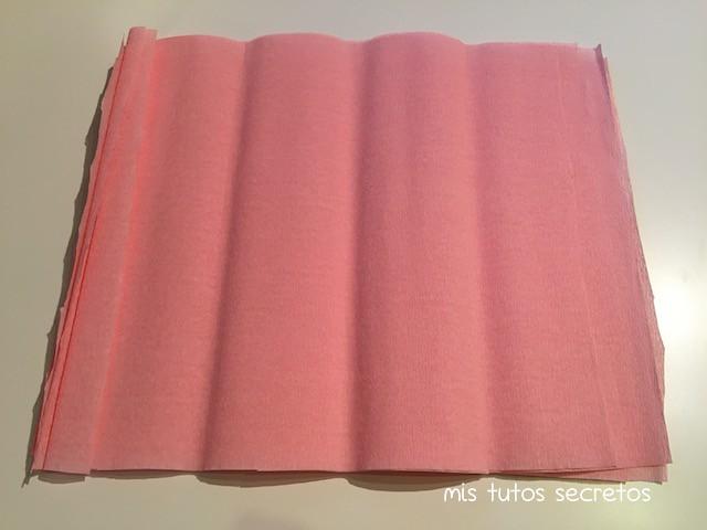 Manualidades con papel crepe