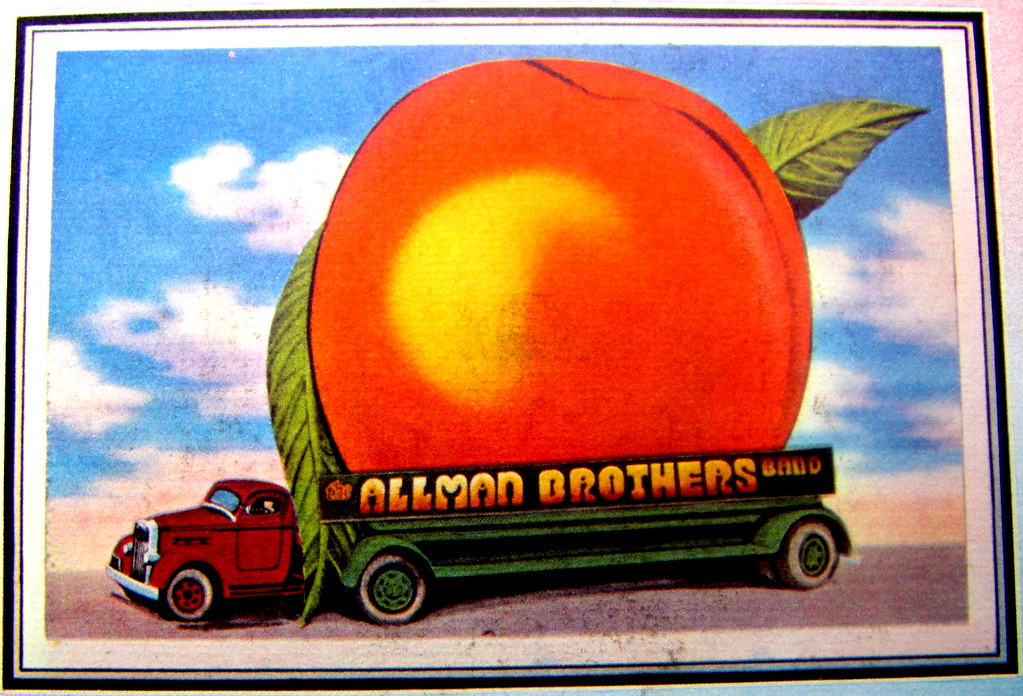 Eat A Peach The Artwork Off The Lp Of The Allman Brother