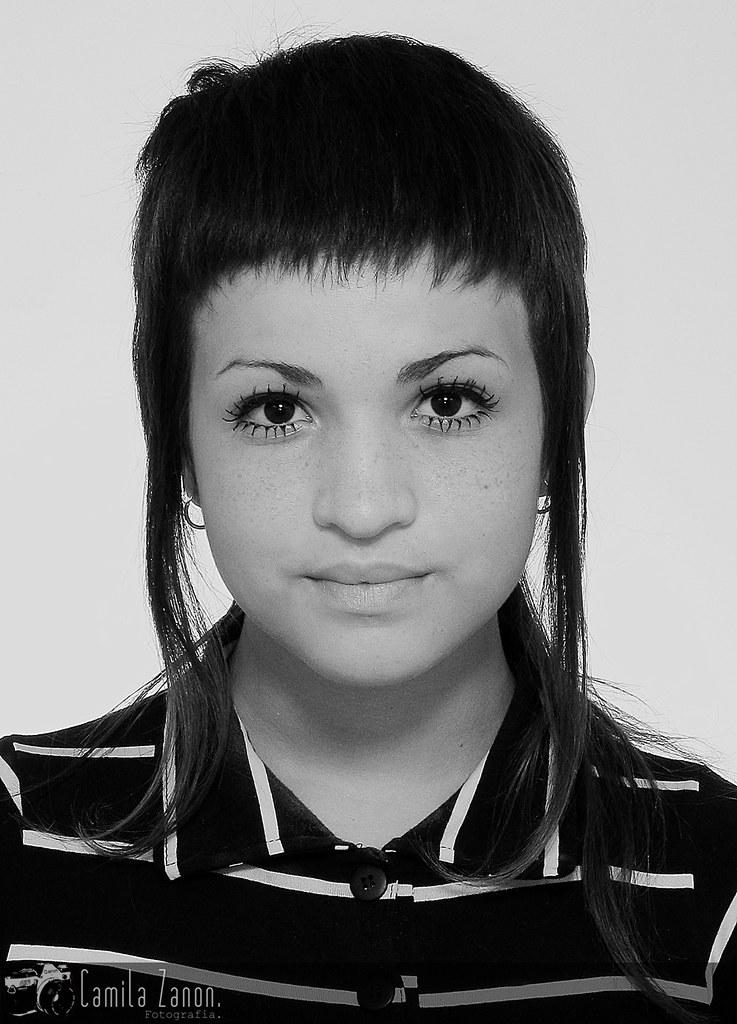 Skinhead Girl Portrait Camal Camila Zanon Flickr