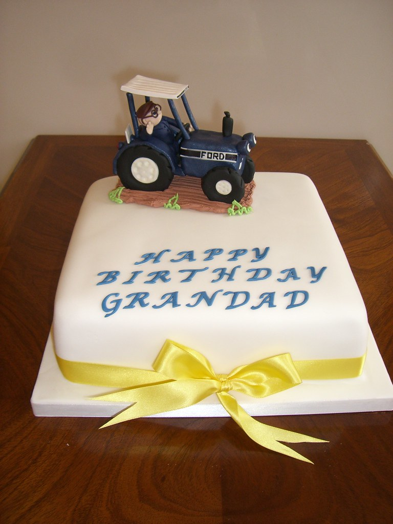 Farmer Birthday Cake Birthday Cake For A Farmer Friend S