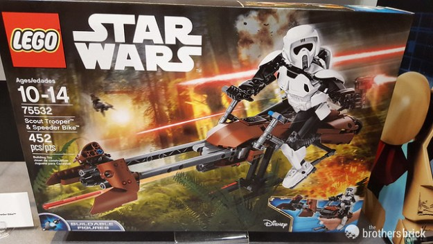 75532 Scout Trooper and Speeder Bike