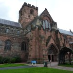 Three Carlisle Cathedral | Finding a bench I sat down, ate a ...