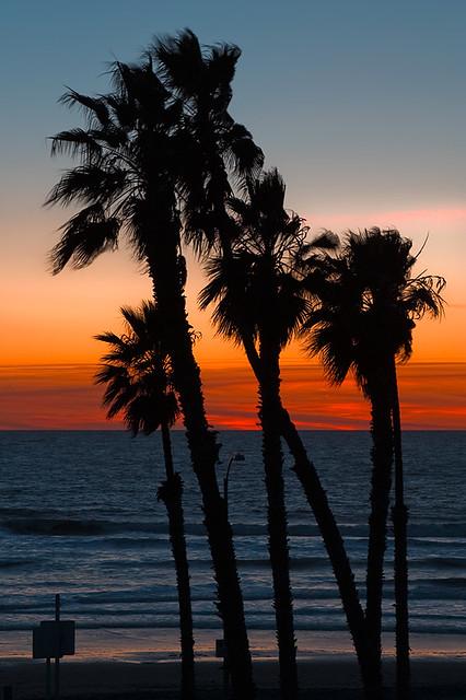 Oceanside Beach Sunset Oceanside California I Love