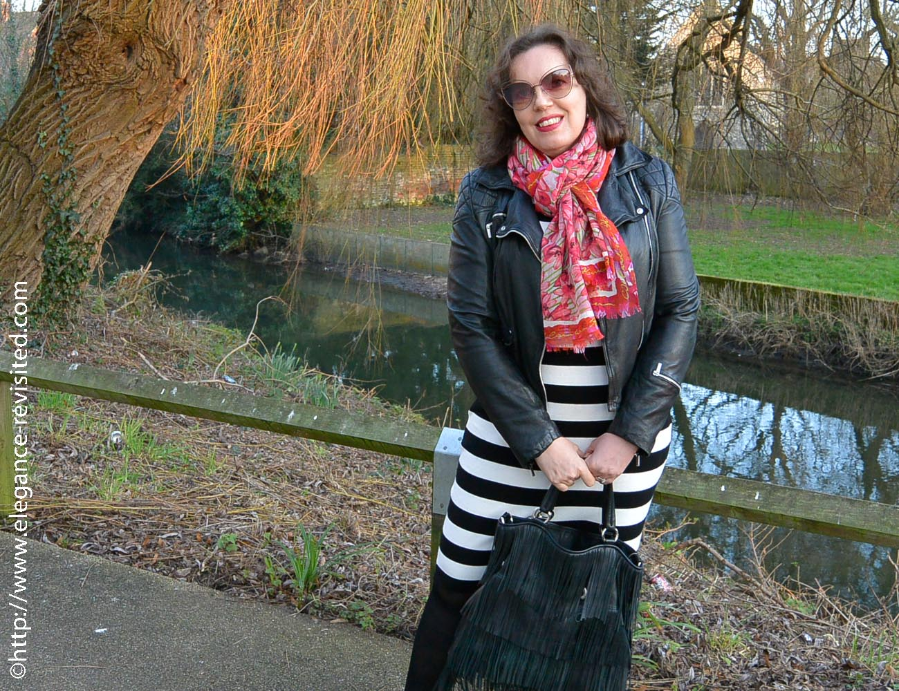 how to wear a biker jacket over 50