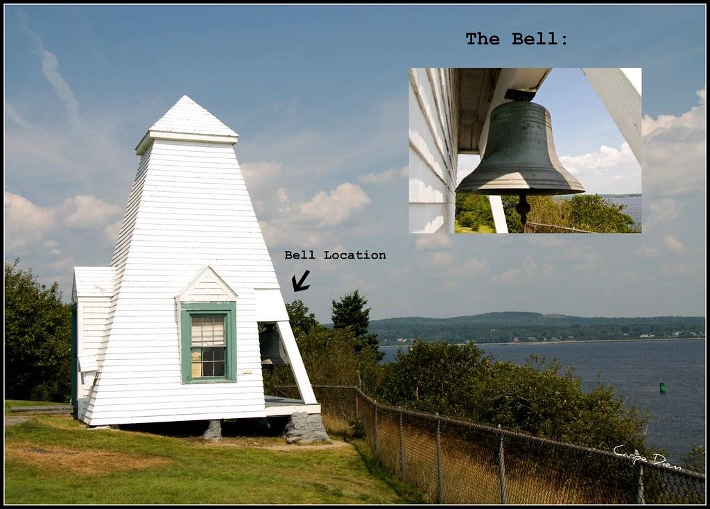 Fort Point Lighthouse Fog Bell Tower Fort Point Light