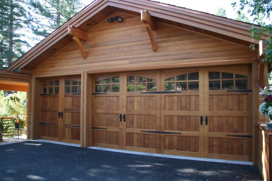custom clear cedar garage door Wayne Dalton Corp. | dean ...