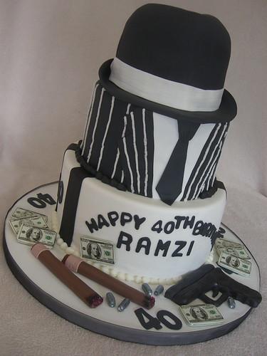 Mafia Themed Cake Bertha Quichocho Ross Flickr