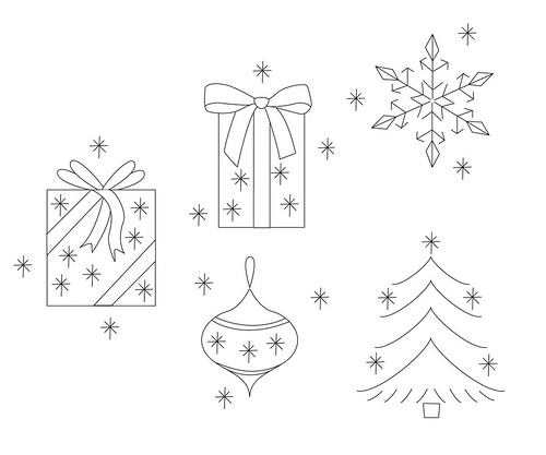 Christmas Embroidery Patterns Tutorial At Www