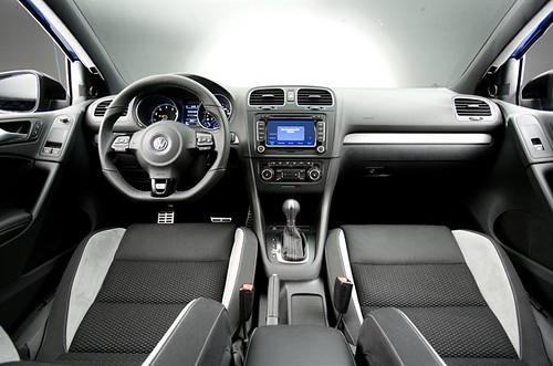 VW Golf R Interior Front Here It Is At Last The New
