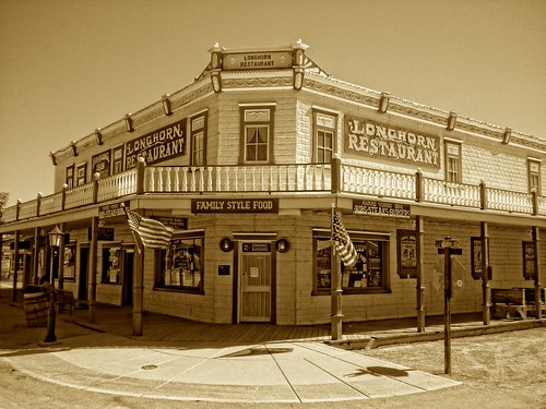 Longhorn Restaurant in Tombstone, AZ