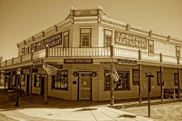Longhorn Restaurant in Tombstone, AZ