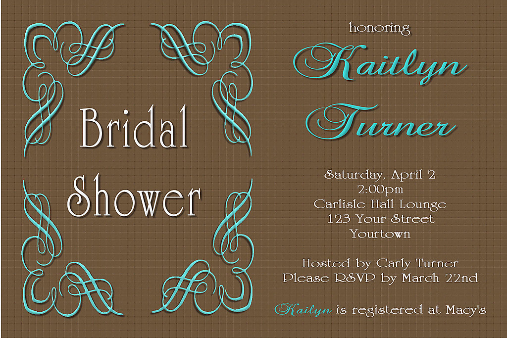 Tiffany Blue Wedding Invitations