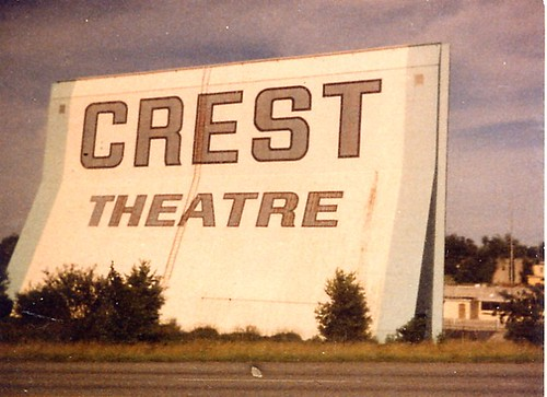 Crest Drive In This Was A Duel Screen Theater Off Of Highw Flickr