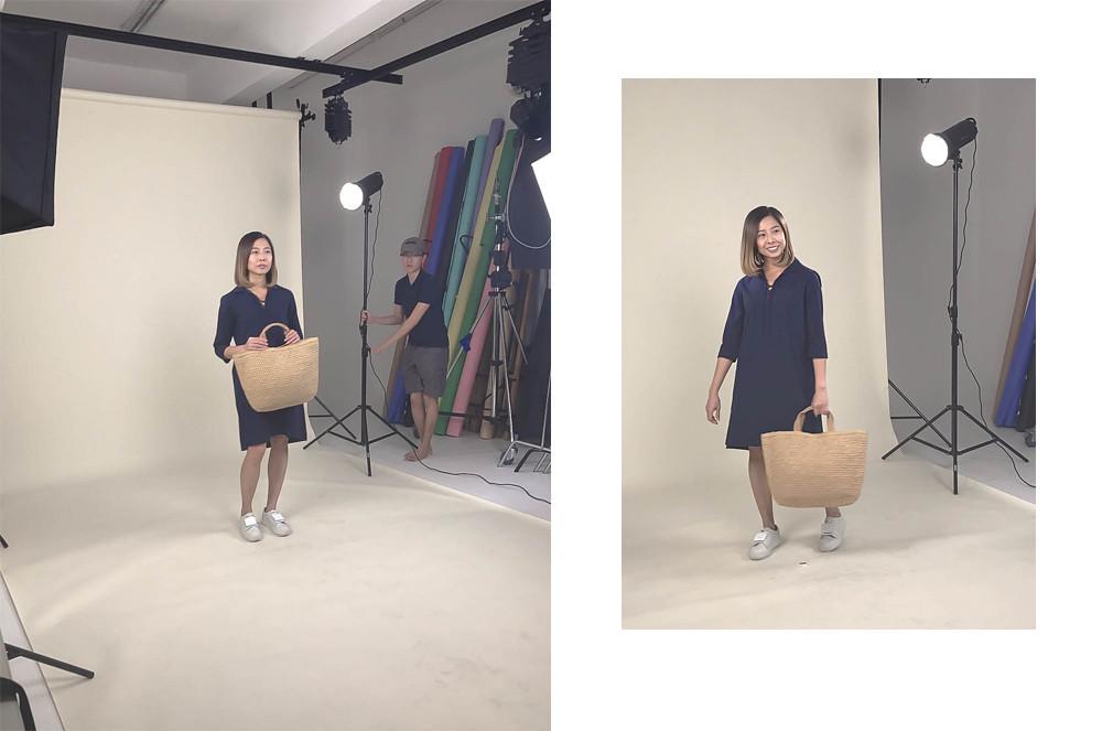 Elle Singapore Uniqlo Ines de la Fressange Fashion Blog combi