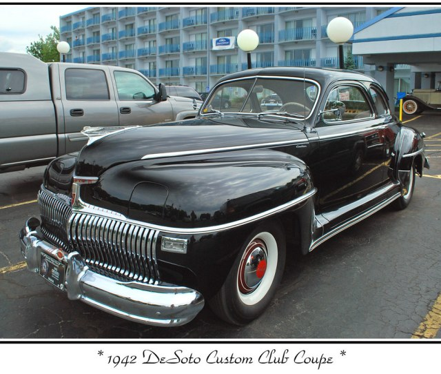 1942 Desoto Club Coupe By Sjb4photos