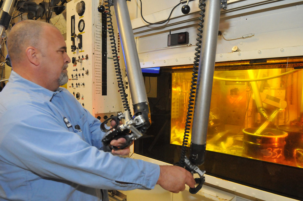 Arra Funded Work At Alpha Gamma Hot Cell Facility Hot