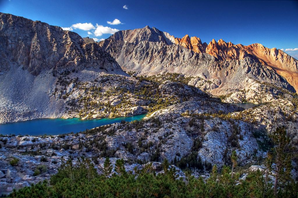 California Mountains Map