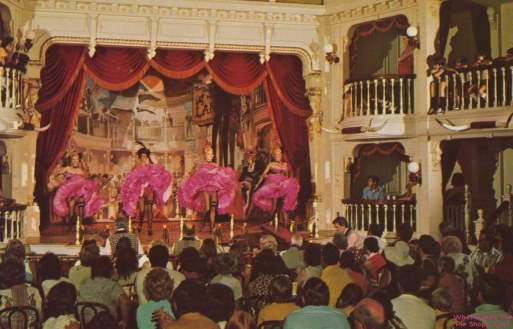 Diamond Horseshoe Revue Walt Disney World Opening Day