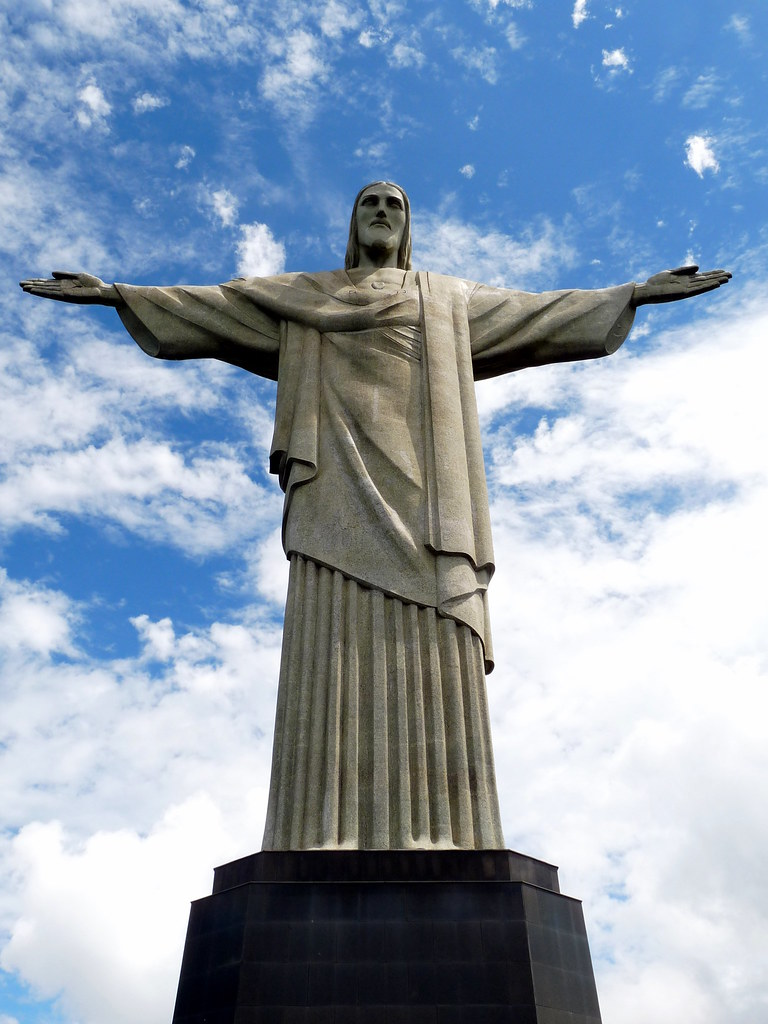 Jesus With His Hands Up