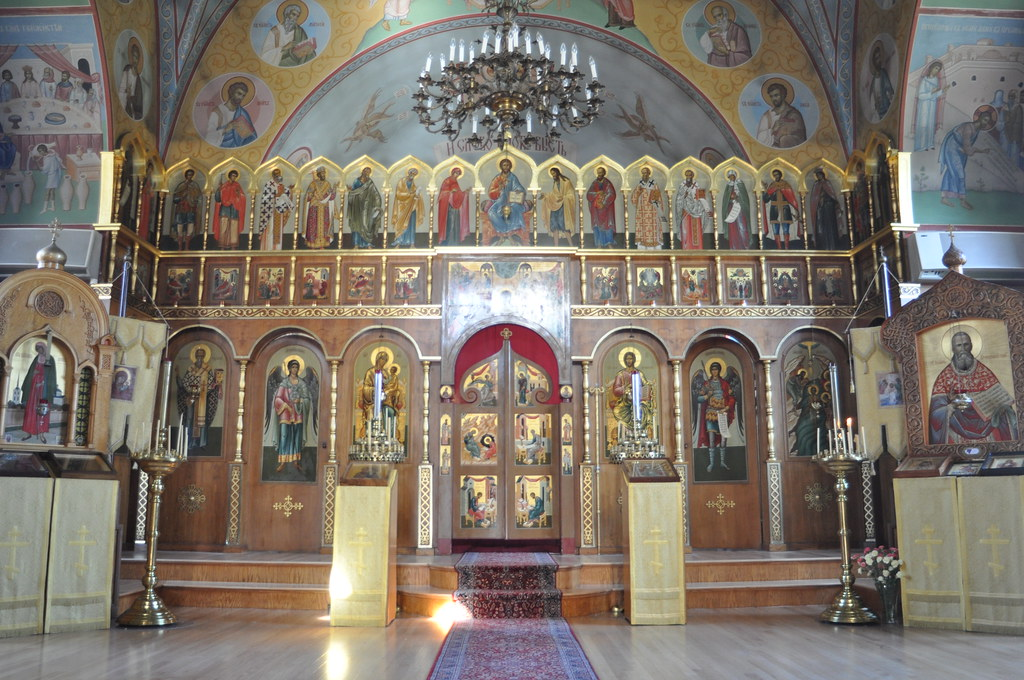 The Iconostasis Of The Russian Orthodox Church Of The Epip