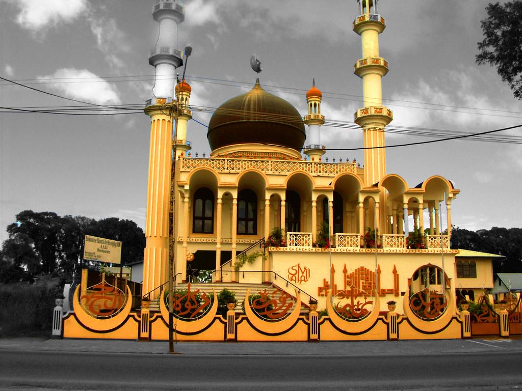 Biggest Mosque Suriname