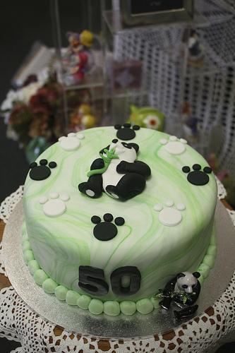 Mossy S Masterpiece 50th Birthday Panda Cake I Ve Just