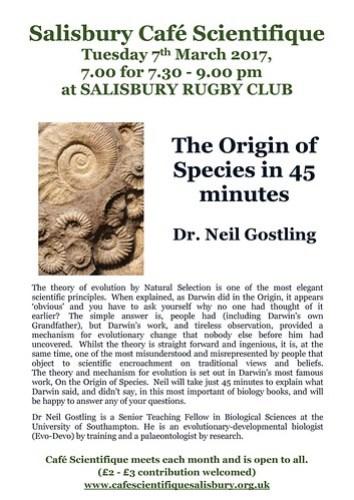 Poster for Neil Gostling